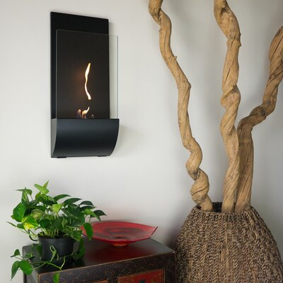 Bluworld Torcia Wall Mounted Bio Ethanol Fuel Fireplace