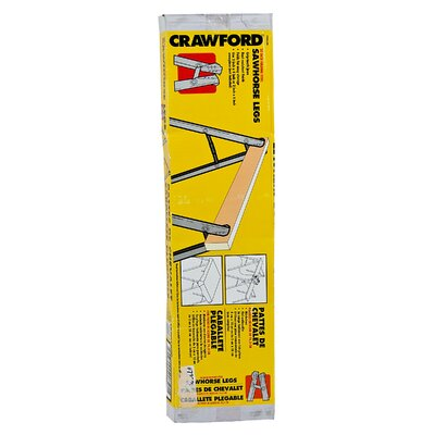 "Lehigh Group 2 Count 30"" Folding Sawhorse Leg SHL30"