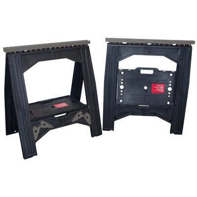 Lehigh Group 1 Pair Storehorse Sawhorses With Sawbucks 10000-6G