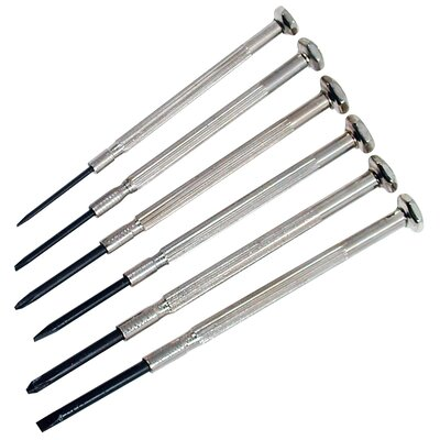 GREAT NECK 6 Piece Precision Screwdriver Set 17528