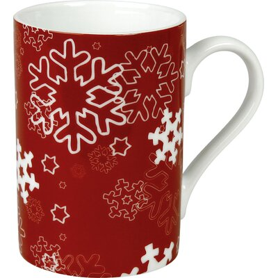 Waechtersbach Winter Splendor 10 oz. Snowflakes Mug (Set of 4)