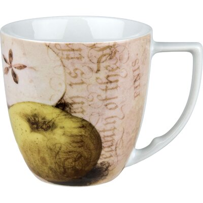 Waechtersbach Accents Nature 12 oz. Apples Mug (Set of 4)