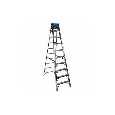 Werner 10' Aluminum Step Ladder