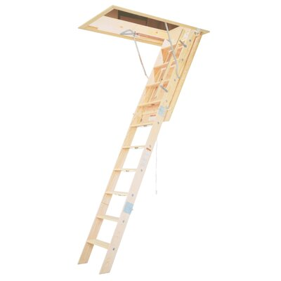 Werner 8' Wooden Attic Ladder WH2208