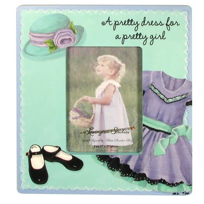 Children and Baby Theater Dress Large Picture Frame