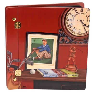 Lexington Studios Sport Always Time For Golf Book Photo Album