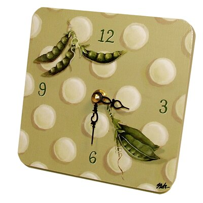 Children and Baby Peapod Tiny Times Clock