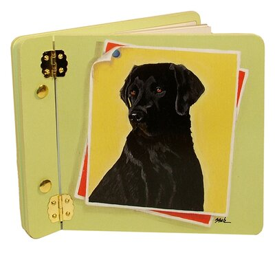 Animals Black Lab Mini Book Photo Album