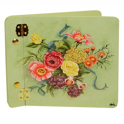 Home and Garden Bouquet Mini Book Photo Album