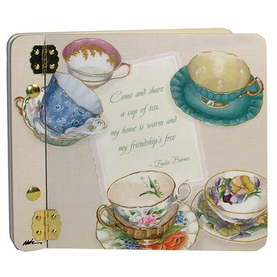 Home and Garden Tea Cups Mini Book Photo Album