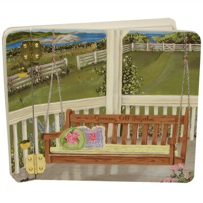 Home and Garden Porch Swing Mini Book Photo Album