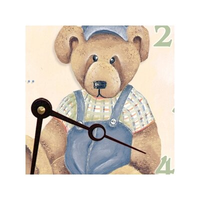 Lexington Studios Baby Bear Round Clock