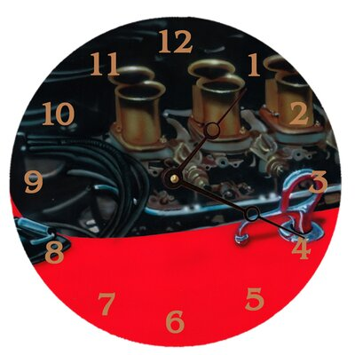 Lexington Studios Vintage Engine Round Clock