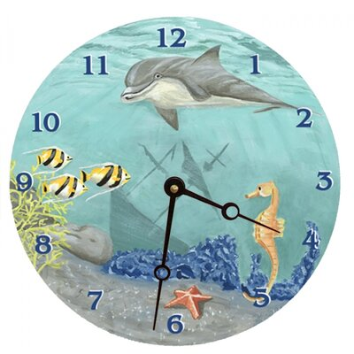 Under the Sea Round Clock