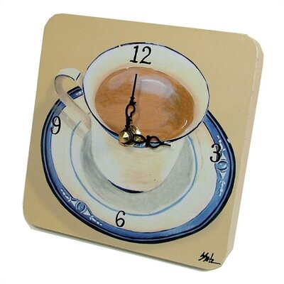 Lexington Studios Coffee Cup Tiny Times Clock