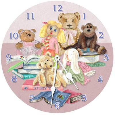 Lexington Studios Story Time Round Clock