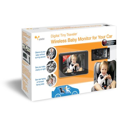 YadaTechnologyGroup Digital Tiny Traveler™ Baby Monitor for Car