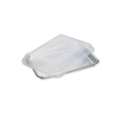 Natural Commercial Bakers Quarter Sheet with Storage Lid
