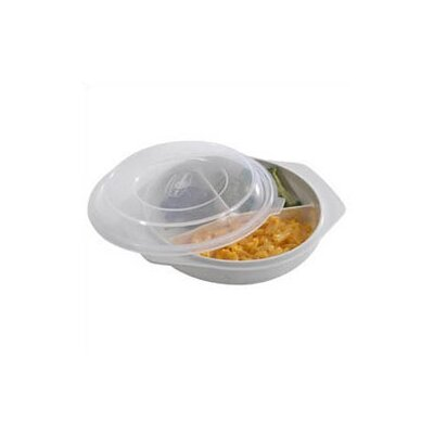 Nordicware Microwave Divided Dish with Cover