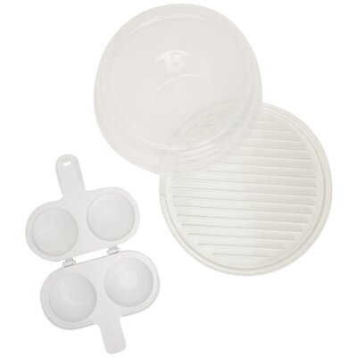 Nordicware Microwave Bacon and Egg Set