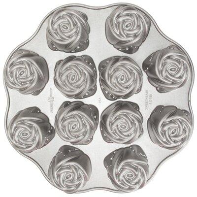 Nordicware Platinum Sweetheart Rose Muffin Pan