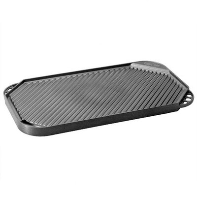 "Nordicware Pro Cast Traditions 11"" Non-Stick Reversible Grill Pan and Griddle"