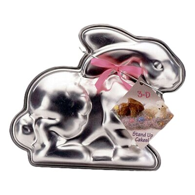 Seasonal Easter Bunny 3-D Cake Mold