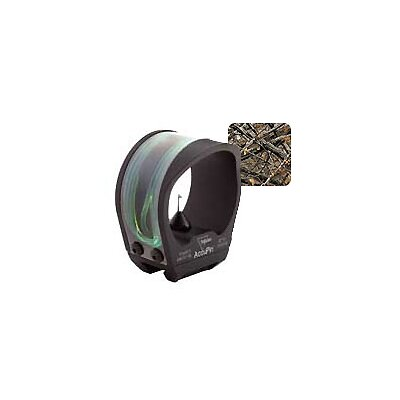 AccuPin Dual Illuminated Bow Sight Green Triangle with Dovetail Base in Lost Camo