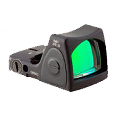 Trijicon RMR Sight Adjustable LED 6.5 MOA Red Dot with RM34W Weaver Rail Mount