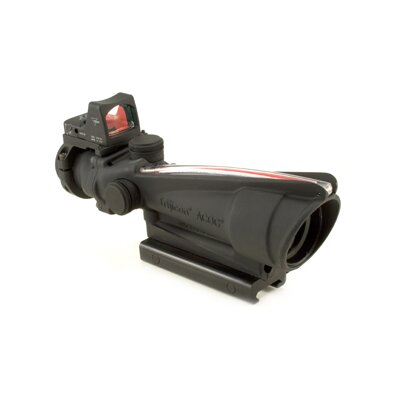 ACOG 3.5x35 Scope with Dual Illuminated Red Crosshair 223 Ballistic Reticle and 3.25 MOA RMR ...