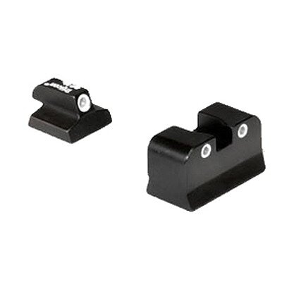 Trijicon Baby Eagle 3 Dot Green Front and Rear Night Sights
