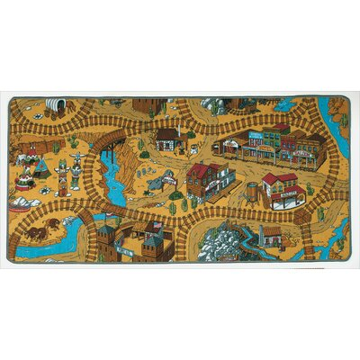 Learning Carpets Play Carpet Wild West Kids Rug