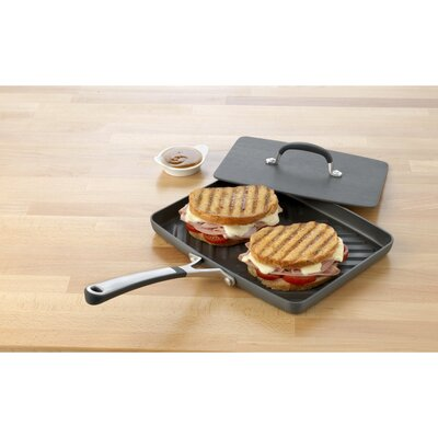 Calphalon Simply Nonstick Panini Pan with Lid