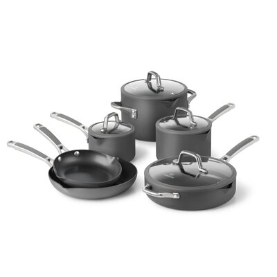 Calphalon Easy System Nonstick 10-Piece Cookware Set
