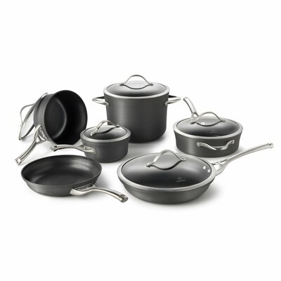 Calphalon Contemporary Nonstick 11-Piece Cookware Set