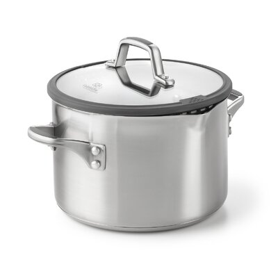 Calphalon Easy System Stainless Steel Stock Pot with Lid