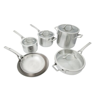 Calphalon AcCuCore 10-Piece Cookware Set