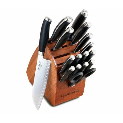 Contemporary 17-Piece Knife Block Set