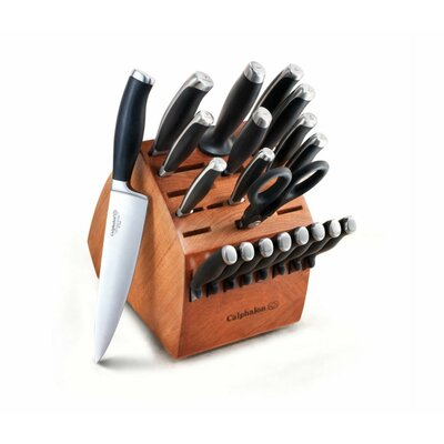Contemporary 21-Piece Knife Block Set