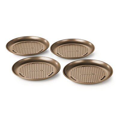 Calphalon Simply Nonstick 4-Piece Personal Pizza Pan Set