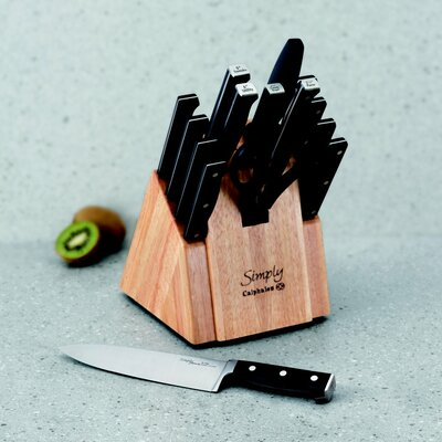Calphalon Simply Forged Cutlery 16 Piece Knife Block Set