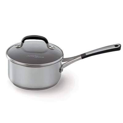 Calphalon Simply Stainless II Saucepan with Lid