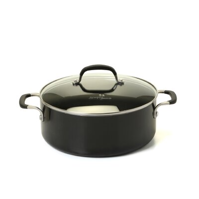 Calphalon Simply Enamel 5-qt. Soup Pot with Lid