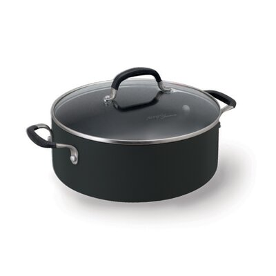 Calphalon Simply Enamel 5-qt. Chili Pot with Lid