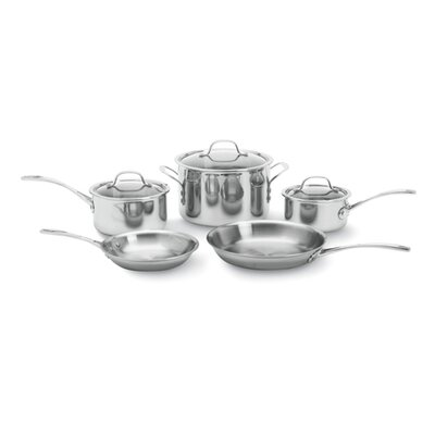 Calphalon 3-Ply Stainless Steel 8-Piece Cookware Set