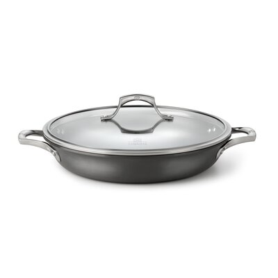 "Calphalon FREE Contemporary Nonstick Sear 12"" Everyday Pan with Glass Lid"