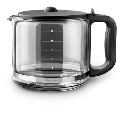 Calphalon Kitchen Electrics Glass Carafe for Quick Brew 12 Cups Coffee Maker