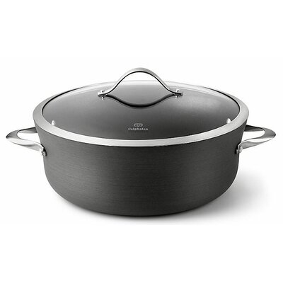 Contemporary Nonstick 8 1/2-Qt. Round Dutch Oven