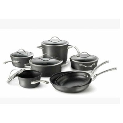 Contemporary Nonstick 12 Piece Cookware Set
