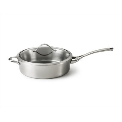 Calphalon Contemporary Stainless Steel 3-qt. Saute Pan with Lid